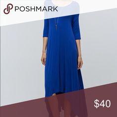 Royal blue maxi dress 95%rayon 5% spandex S&K Boutique Dresses Maxi