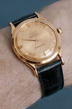 Omega SA - Wikipedia, the free encyclopedia Omega Constellation, Stylish Watches, Luxury Watches For Men, Fine Watches, Cool Watches, Apple Watch Fashion, Swiss Army Watches, Vintage Omega, Rolex