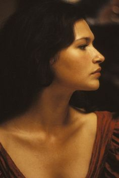 Still of Karina Lombard in Wide Sargasso Sea (1993). Not a book, but still need to check this out. Marina from the L Word + Jean Rhys novel? OMG I can't handle this!