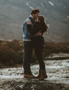A Surprise Proposal In The Scottish Highlands: Marina + Robby