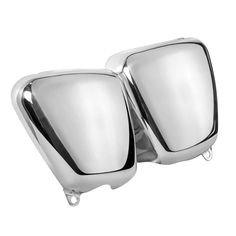 MC PART ID: MTE092 Machine stamped out of 5052 Aluminium and then mirror polished these side panels will fit any of the aircooled Triumph Twin range including t
