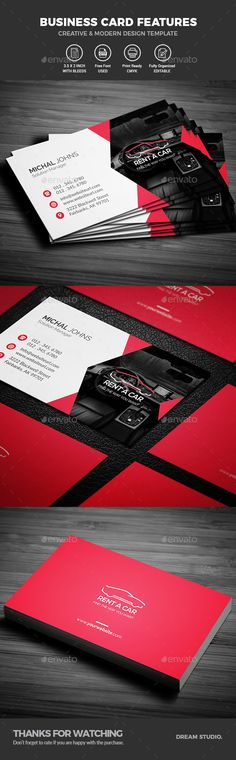 #Business #Cards - Business Cards Print Templates Download here: https://graphicriver.net/item/business-cards/20169492?ref=alena994