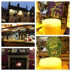 #Otley's The Old Cock has been #CAMRA #Leeds #Pub of the year before and it's easy to see why. Fantastic & warm traditional venue. #ale #realale #craftale #craftbeer #Leeds #Yorkshire #England #travel #tourism #tourist @ilkleybrewery @abbeydalebeers http://ift.tt/1jTYdum