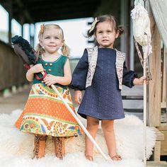 the Primary Dress in  Textured Navy with Bell Sleeves #fashion #handmade #kidsfashion #Toddlerfashion