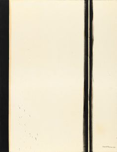 Barnett Newman, Fourth Station, 1960, from the Stations of the Cross series.  oil on canvas,198.1 x 153 cm (78 x 60 1/4 in.), National Gallery of Art, Washington D.C.