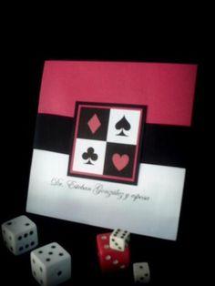 invitaciones con tema de casino - Buscar con Google