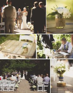 Yellow and Cobalt blue rustic vintage wedding at Whonnock Lake  photos by Love out Loud  Vancouver Wedding Planning | Fraser Valley Wedding Planner | Vancouver Wedding Invitations | Vancouver Wedding Hair Stylist |Kailey Michelle Events | www.kaileymichelle.com  #Decor #flowers #ceremony
