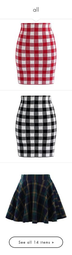 """all"" by ivanatova ❤ liked on Polyvore featuring skirts, mini skirts, red, tartan skirt, plaid miniskirts, short skirts, tartan miniskirts, short plaid skirt, bottoms and gonne"