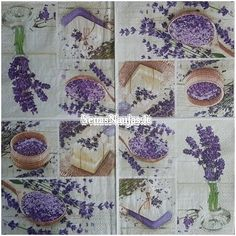 PURPLE DECOUPAGE /& CRAFTING 4 x  PAPER NAPKINS with BLACK SPOTS  for TABLE