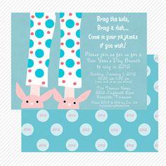 new years brunch invitation custom printable brunch invitations new years party sleeping beauty