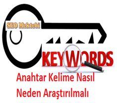 Anahtar Kelime Nasıl Neden Araştırılmalı http://www.seomektebi.com/2015/01/anahtar-kelime-nasl-neden-arastrlmal.html Her site sahibi organik ve iyi trafik için arama motoru optimizasyonu yapmak zorundadır.SEO ile uğraşmak her acemi site sahibinin ilk düşüneceği konudur bu seo konularının içinde de anahtar kelime belirleme site tasarımından bil önce düşünülmelidir.