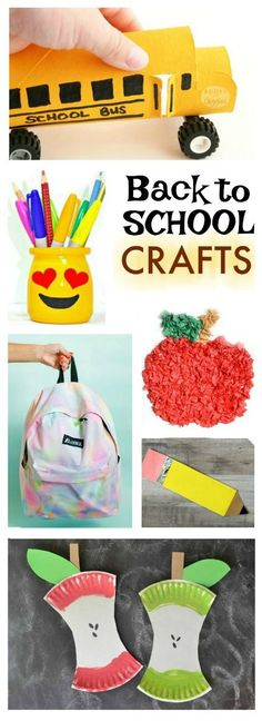 25 ADORABLE BACK-TO-SCHOOL CRAFTS FOR KIDS ( the DIY backpack is SO 01b701c5a100e