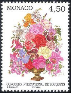 Monaco 1999 Flower Show/Flowers/Plants/Nature/Roses/Ikebana 1v (n38604)