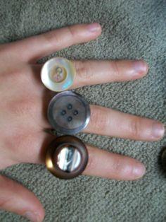 Tre anelli di madreperla