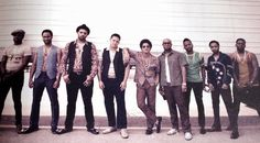 Bruno Mars and The hooligans