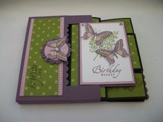 Stamping Moments: Touch of Nature 3D Cards and Box Envelope Stamp Class