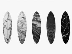 MARBLE SURFBOARDS by Alexander Wang for Haydenshapes