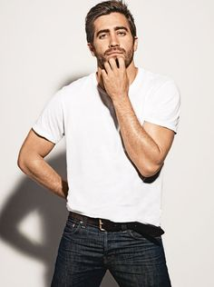 good lord. Jake Gyllenhaal for GQ Australia - via Cape Cod Collegiate