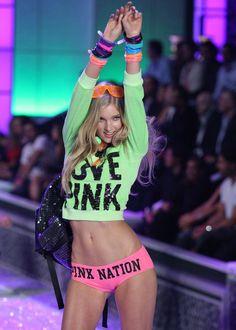 Elsa Hosk hits the runway - Victoria's Secret Fashion Show Catwalk Collection