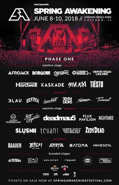 New Envision 2017 Lineup