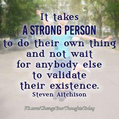 It takes. . .