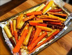 Vegan Honey Glazed Carrots