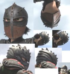 Hiccup helmet shots HTTYD2 (for when i make it)…