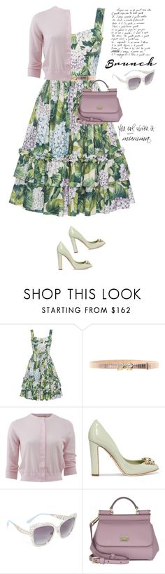 """Brunch style with my beautiful mumma"" by jan31 ❤ liked on Polyvore featuring Giambattista Valli, Dolce&Gabbana, Michael Kors, MothersDay, brunch, floraldresses, mumma and brunchgoals"