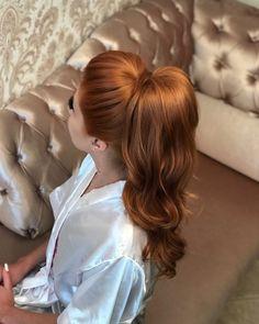 Hairlook Hairstyles Pin by Mariane Poiati Batisa on cabelos formatura in 2020 Crown Hairstyles, Ponytail Hairstyles, Bride Hairstyles, Work Hairstyles, Elegant Wedding Hair, Simple Wedding Hairstyles, Hot Hair Styles, Medium Hair Styles, Bridal Hair And Makeup