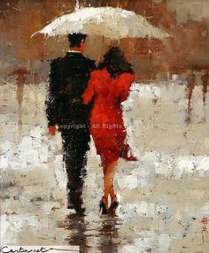 Часть 1. Красный зонт как тема в изобразительном искусстве. Обсуждение на LiveInternet - Российский Сервис Онлайн-Дневников
