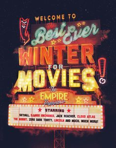Empire Winter Movies on Behance  www.ilovedust.com
