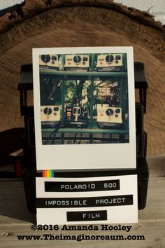 Polaroid Onestep Express- green Impossible Project 600 Film Showcasing all the Polaroid Onestep rainbows that I had in the shop at the time. 600 Film, Impossible Project, Instant Camera, Rainbows, Cameras, Polaroid Film, Etsy Shop, Green, Projects