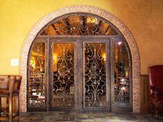 Custom Wrought Iron Door