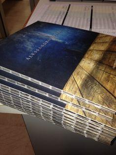 New catalogue for Alessandro Oteri. Photo Sonia Marin. Graphic EYE Communication. Print Tipolitografia Mariani.