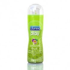 Durex Play Passion Fruit Lubricant 50ml Nothing like a cocktail of sun, sea and sex toy spice up your summer. But why not add a touch of fruity fun with this passion fruit lube from Durex. Smooth glide and fantastic taste.