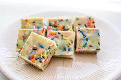 Cake Batter Fudge by Sallys Baking Addiction