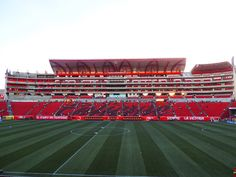 Caliente Stadium in Tijuana, Baja California Norte, Mexico. Home of Club Tijuana.
