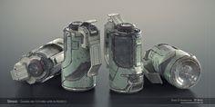 ArtStation - Sci-fi Grenade Shading WIP, Davide Di Giannantonio