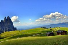 Ферма на крутом склоне в Альпах - Путешествуем вместе