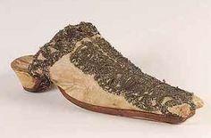 A shoe believed to belong to Anne Boleyn