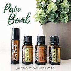 doterra essential oils | roller blend | essential oil recipe | morphine bomb | liquid pain killer | natural pain reliever | essential oil recipe | doterra diy | roller ball recipe