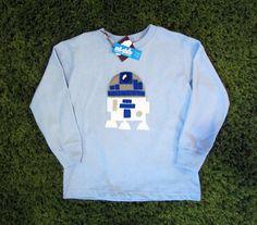 Sewing Wars  ArtD2 Toddler Long Sleeve TShirt by micielomicielo, $28.50