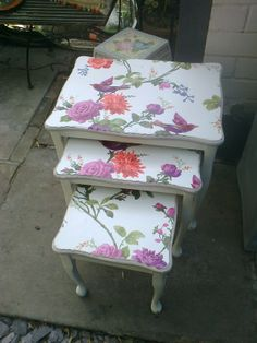Nest of tables £55.00