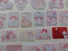 Kawaii Cute My Melody Rabbit Flake Sack Stickers - 25 pcs 2015
