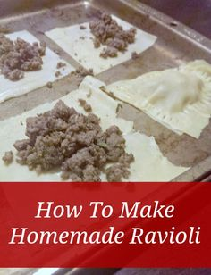 Want some tasty, healthy, and fun recipes to add to your prepper kitchen? This homemade ravioli fits the bill perfectly!