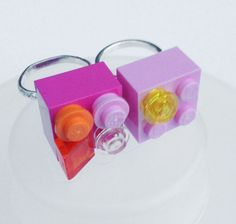 20 Decorate your Own LEGO Friends Ring Party Favor/ Gift ~ Great for a birthday party, decorations, supplies, crafts, or favors!