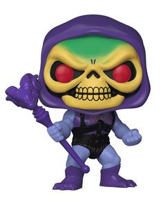 Pop Masters of the Universe - Battle Armor Skeletor Vinyl Figure This series features Battle Armor He-Man and Battle Armor Skeletor, also the ruler beneath the sea Merman! Rounding out the series comes the evil witch Evil- Lyn, Beast Man, Orko the Trollan, and leader of the Bird People, Stratos!