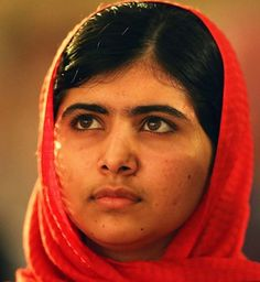 """Malala Yousafzai   """"My father says that education is neither eastern nor western. Education is for everyone."""""""