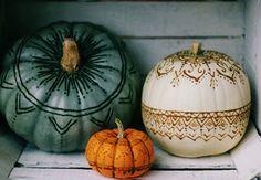 Henna pumpkins
