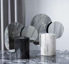 Kristina dam double moon sculpture